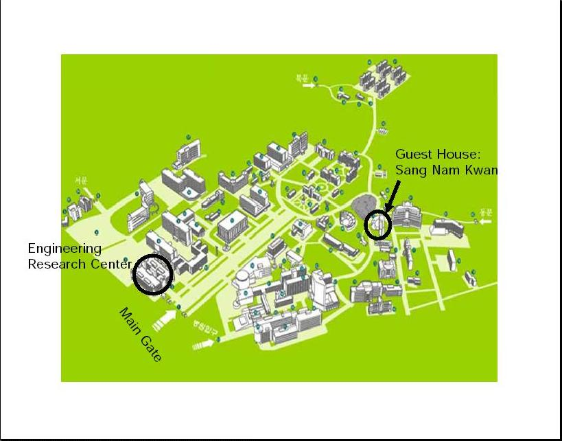 Yonsei Campus Map.Bird S Eye Views Of Yonsei University